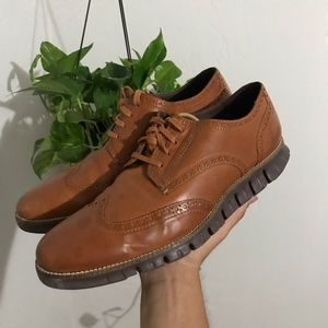 Cole haan grand os leather men's oxfords